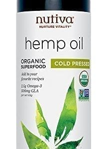 Nutiva Organic Cold-Pressed Unrefined Canadian Hemp Seed Oil