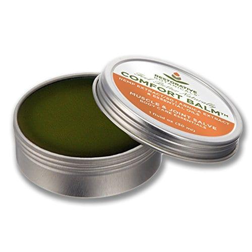 picture of Restorative Botanicals Comfort Balm Hemp Oil Extract Salve 60 mg