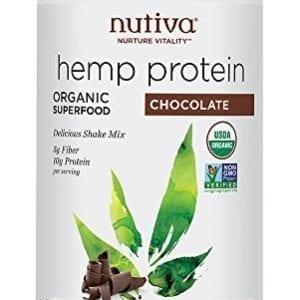 image od Nutiva Organic Cold-Processed Hemp Chocolate Protein Powder