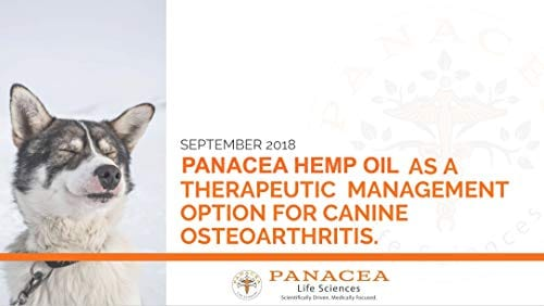 dog PANACEA PETS CANINE Organic Hemp & Fish Oil Infused Softgel