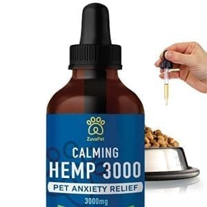 ZuvaPet Hemp Oil Dogs Cats Treats Anxiety Joint Supplement