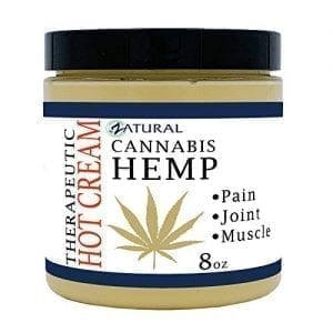 Zatural Cannabis Hemp Oil Organic Therapeutic Hot Cream