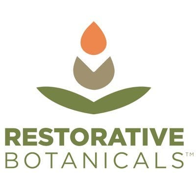 Label from Restorative Botanicals Comfort Balm Hemp Oil Extract Salve 60 mg