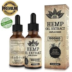 Organic Hemp Remedy 1000mg