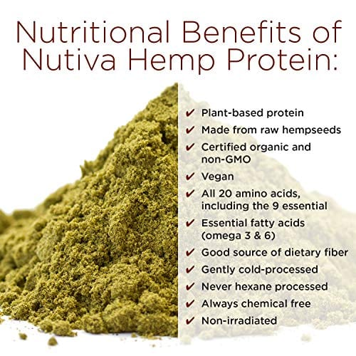Benefits of Nutiva Organic Cold-Processed Hemp Chocolate Protein Powder