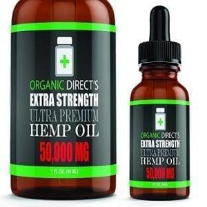 Organic Directs Hemp Oil Organic Hemp Extract Supplement Drops