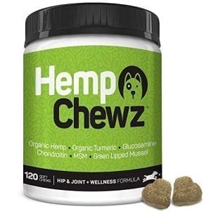 Hemp Chewz Hip - Joint Care 100% Organic Hemp Oil Dog Treats