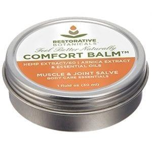 Restorative Botanicals Comfort Balm Hemp Oil Extract Salve 60 mg