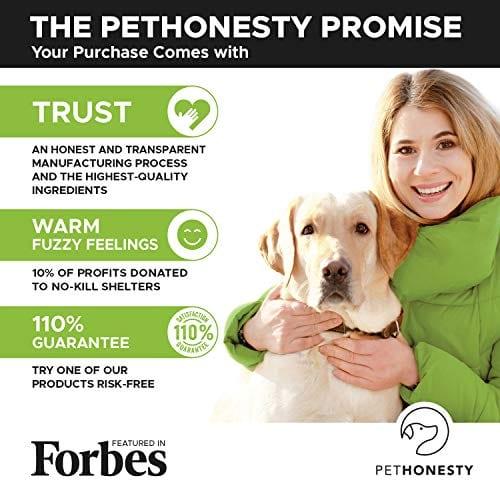 forbes PetHonesty Glucosamine Turmeric Hemp Supplement for Dogs