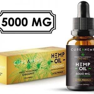 CUREAHEMP Organic Hemp Oil Extract Pain Relief Anxiety Sleep