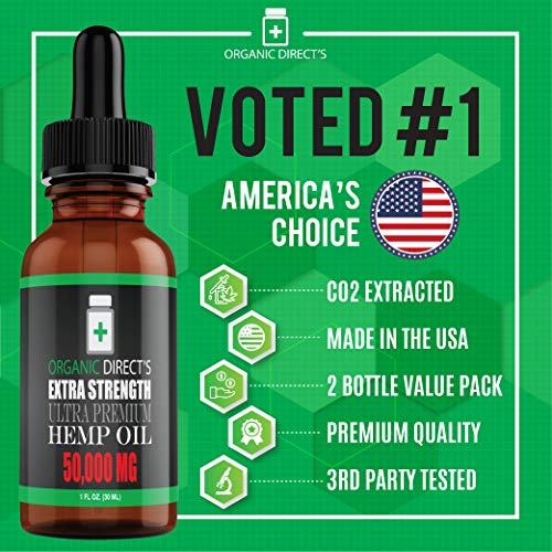Voted 1 Organic Directs Hemp Oil Organic Hemp Extract Supplement Drops