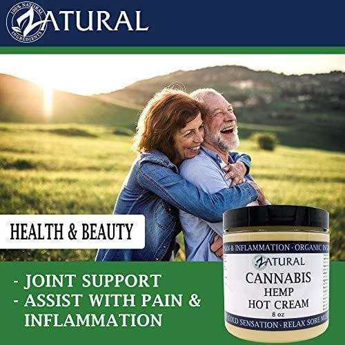 Couple using Zatural Cannabis Hemp Oil Organic Therapeutic Hot Cream