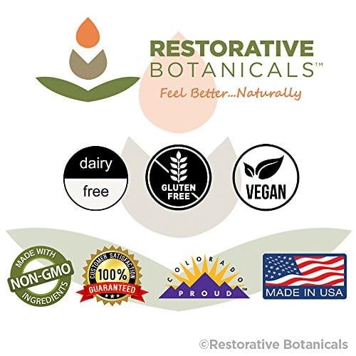 Feel Better with Restorative Botanicals Comfort Balm Hemp Oil Extract Salve 60 mg