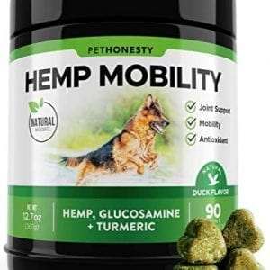 PetHonesty Glucosamine Turmeric Hemp Supplement for Dogs
