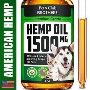 Hemp Oil for Dogs Cats Premium Formula Natural Relief Treats hemp oil