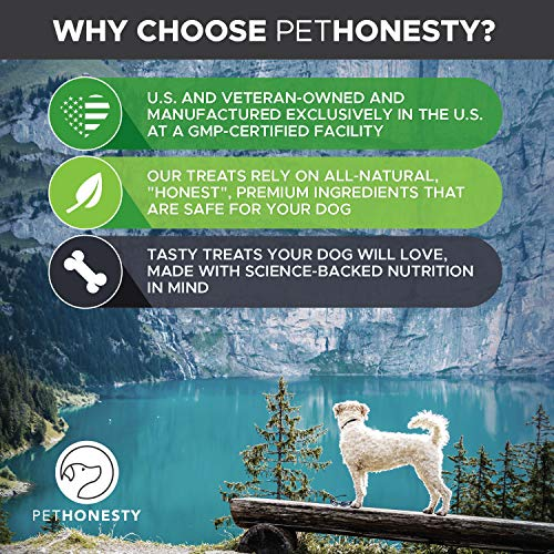 lake PetHonesty Glucosamine Turmeric Hemp Supplement for Dogs