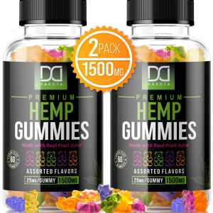 Mix RX 1500mg Hemp Gummies Pain Anxiety Restful Sleep Natural Calm