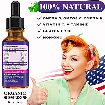 Ultra Premium Hemp Oil 35000 mg Herbal Drops 30ml Best Seller Natural