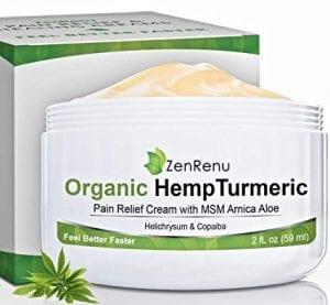 ZenRenu Organic Hemp Cream
