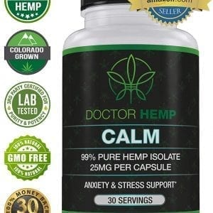 Calm Hemp Oils Vitamins Supplements Pain Relief Anxiety Better Sleep