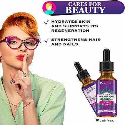 Ultra Premium Hemp Oil 35000 mg Herbal Drops 30ml Best Seller Beauty