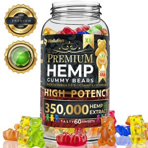 Hemp Gummies Premium 350000 High Potency