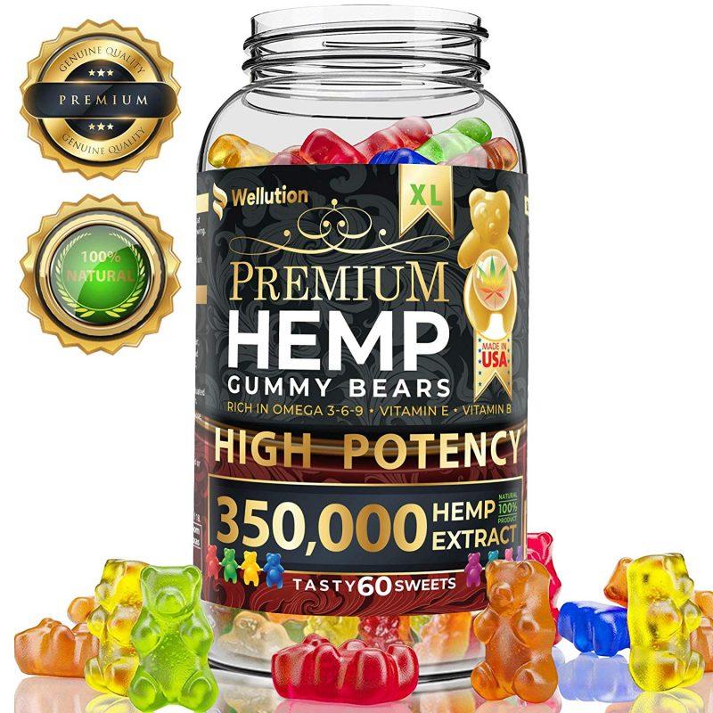 Hemp Gummies Premium 350000 High Potency
