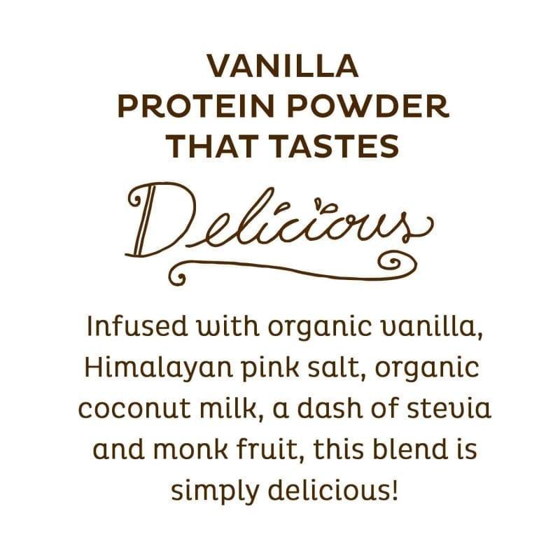 Delicious KOS Vanilla Organic Plant Based Raw Vegan Protein Powder