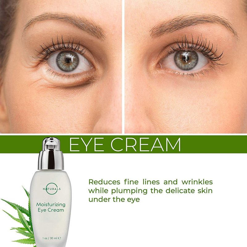 Eyes of O Naturals Anti-Aging Hydrating Hemp Seed Oil Eye Cream 10oz