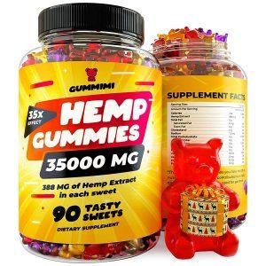 GummiMi Hemp Gummies 35000 MG Improves Memory Focus Attention