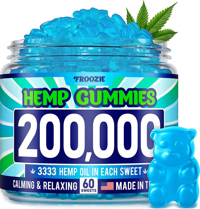 Froozie 200,000 MG Natural Anxiety Stress Relief Premium Hemp