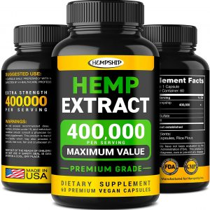 Dr Leaf Premium Grade Hemp Extract Anxiety Stress Supplements